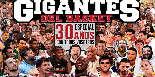 Tri decenije revije Gigantes del basket