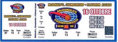 macDonalds 1999