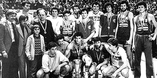 Sezona 1981-82: Moka u Partizanu, trofej u Zagrebu