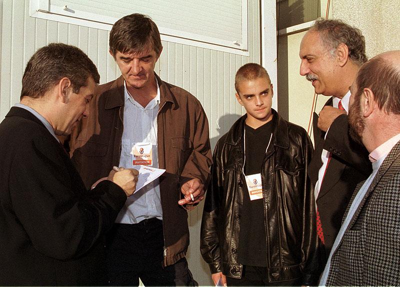 Mirza, Danko, Bil, Martin i ja,16.10.2000,Madrid
