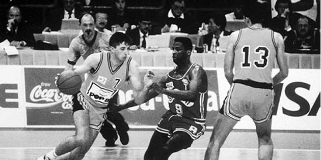 Sezona 1990-91: poslednji aplauz Toniju Kukoču u Beogradu