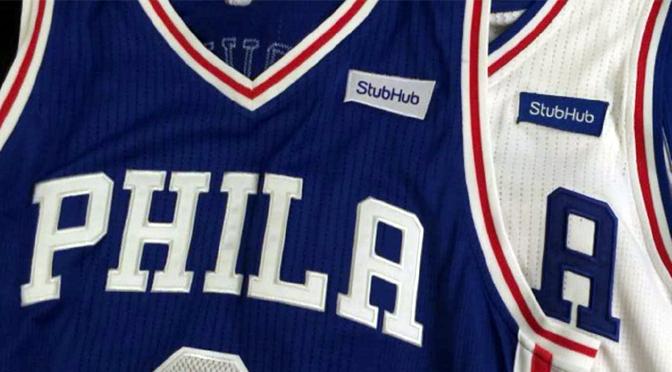 NBA: Konačno – reklama na dresu