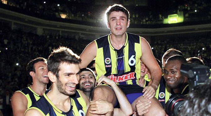 Mirsad Turkcan: The King of rebounds