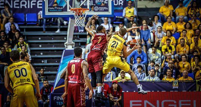 Goran Radonjić: Tenerife, F4 FIBA Lige šampiona