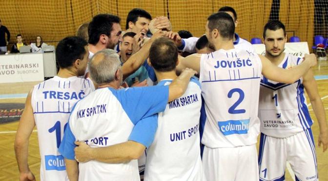 Spartak se vratio na košarkašku mapu, Subotica treba na njoj da gaostavi